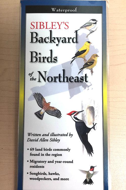 Sibley's Backyard Birds of Northeast Folding Guide
