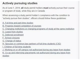 学签:关于学签的几条重要条件