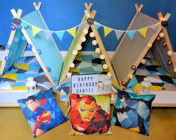 Perfectly Pitched Parties - Superhero
