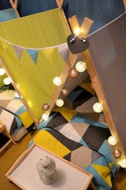 Perfectly Pitched Parties - Geometric tents