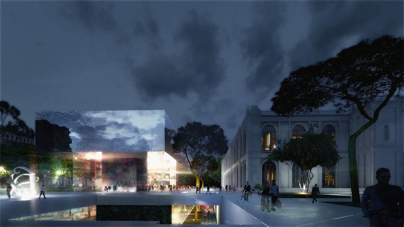 Ben Dieckmann architect MALI Museum of Art Peru