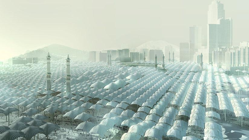 Ben Dieckmann architect Mecca Al Haram Mosque