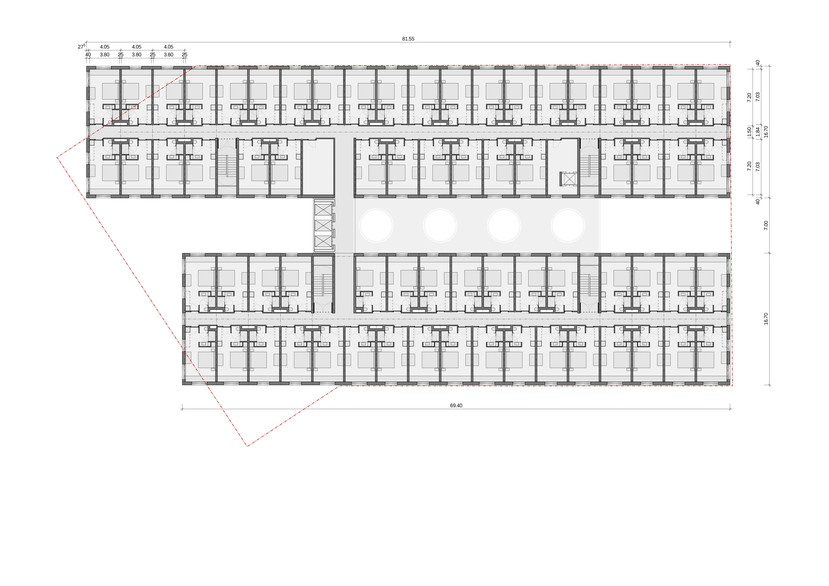 JAZ Hotel Grundriss | Ben Dieckmann architects