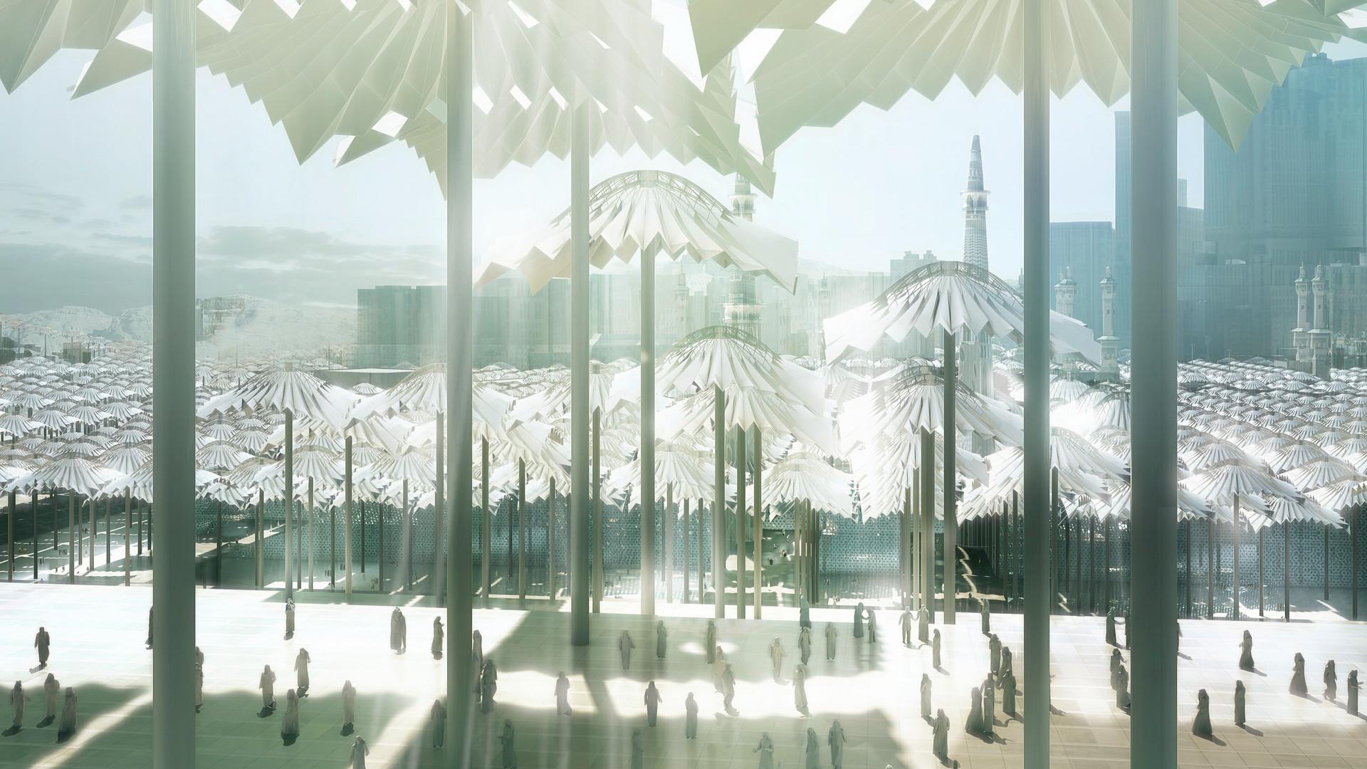 Ben Dieckmann architects Mecca Al Haram Mosque