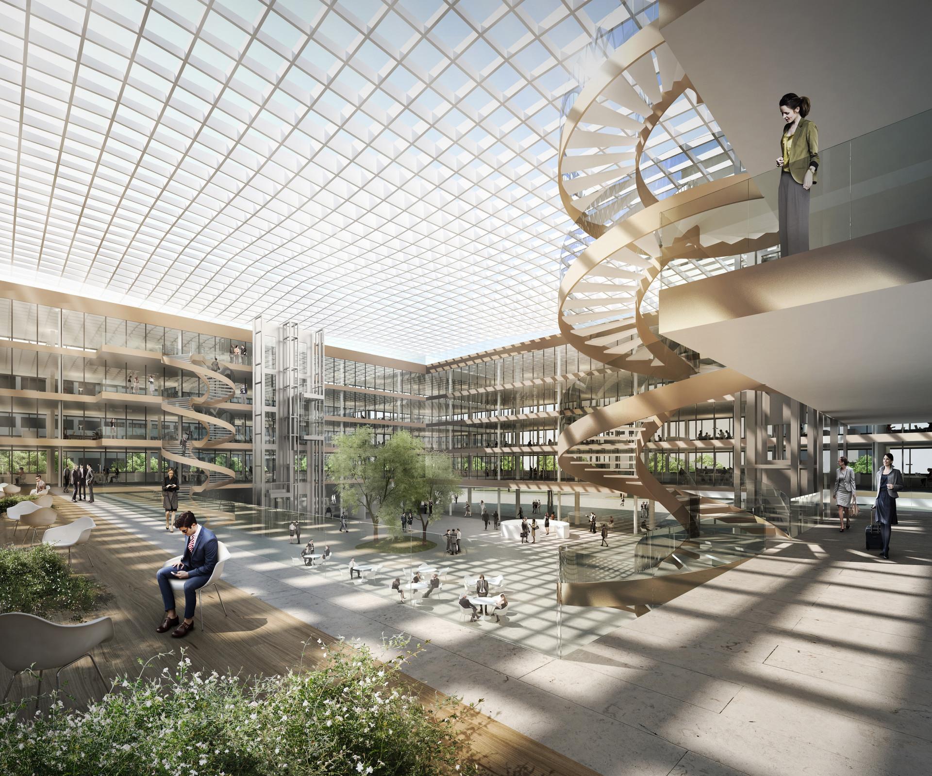 SAB Atrium | Ben Dieckmann architects