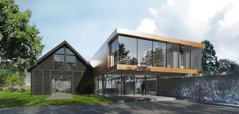 Ben Dieckmann architect Villa .50 NRW extension