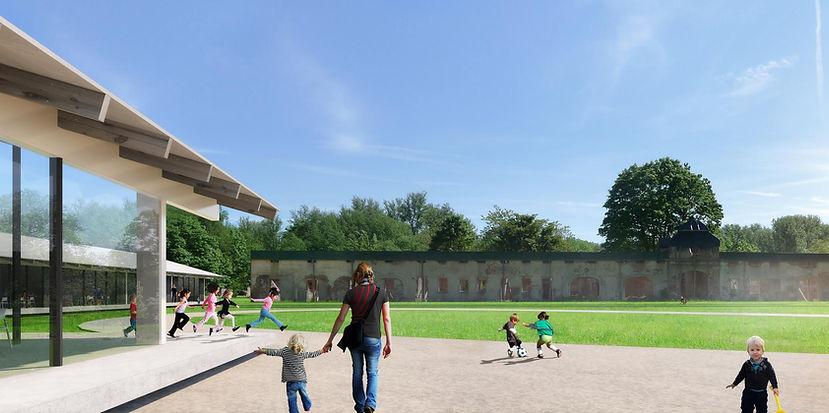 Ben Dieckmann architect Haus Meer ISR International School Kindergarten Meerbusch Germany