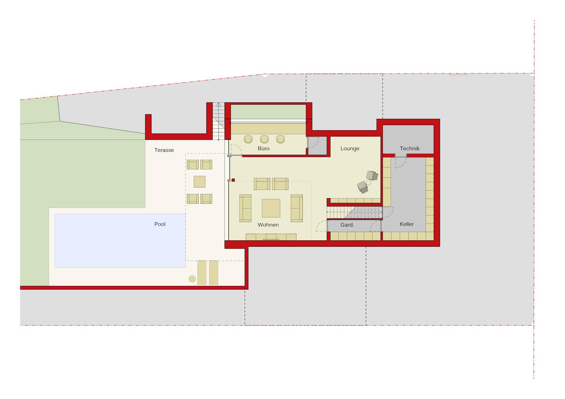 H58 Wohnhaus Grundriss | Ben Dieckmann architects
