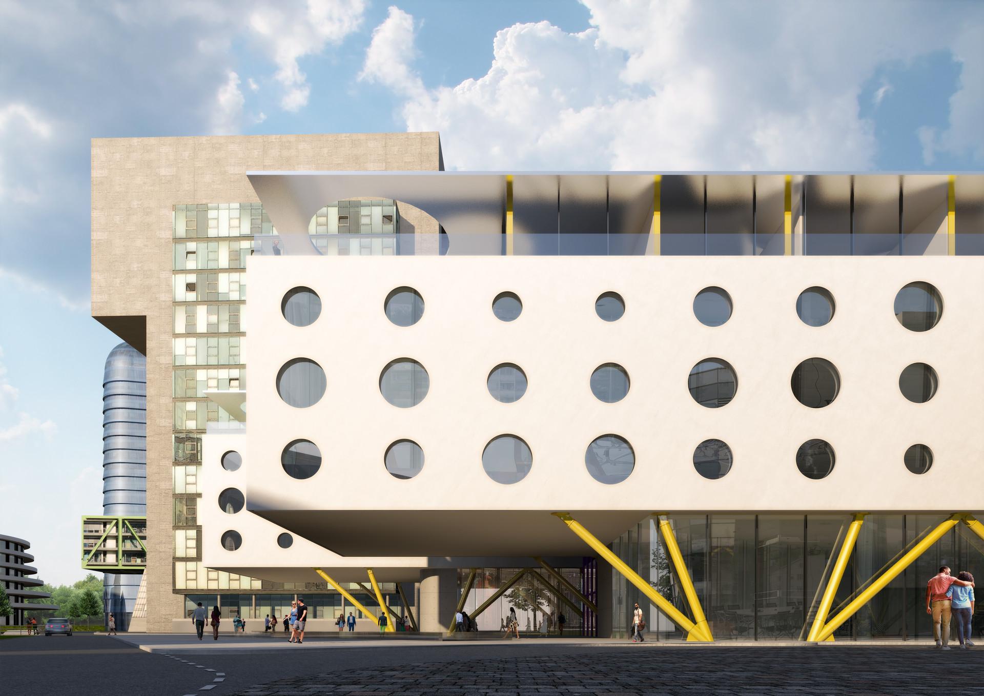 JAZ Hotel Fassade | Ben Dieckmann architects