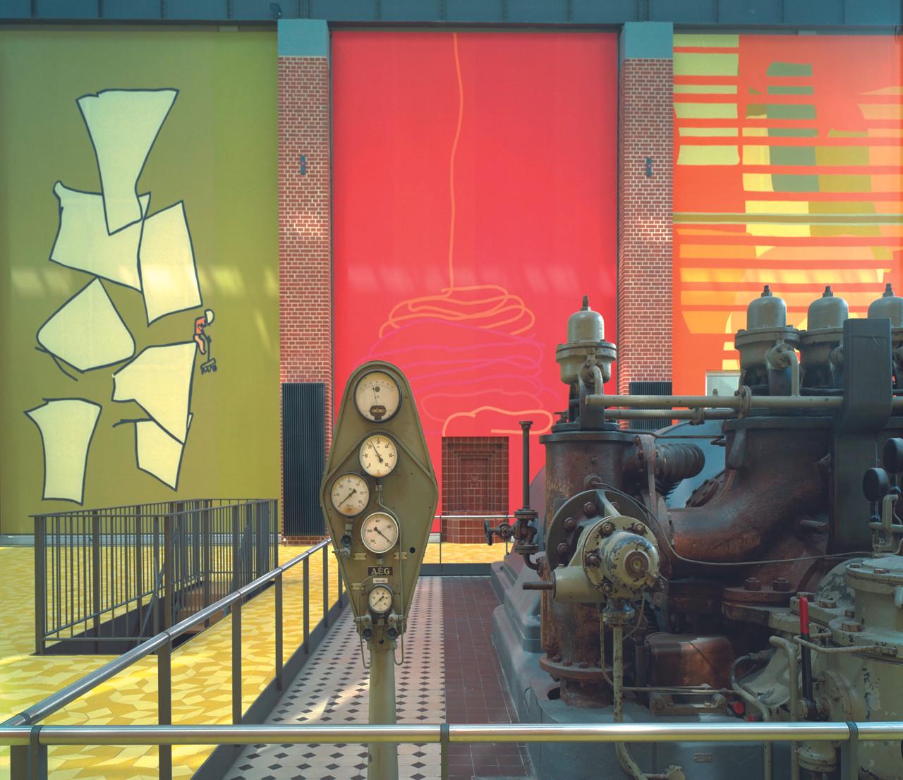 Stadtwerke Düsseldorf Turbinenhalle   Ben Dieckmann architects