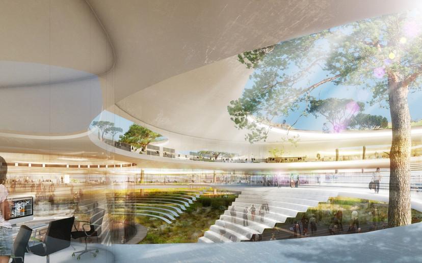 Ben Dieckmann architects Google HQ Mountain View California USA