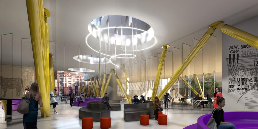 JAZ Hotel Empfang | Ben Dieckmann architects