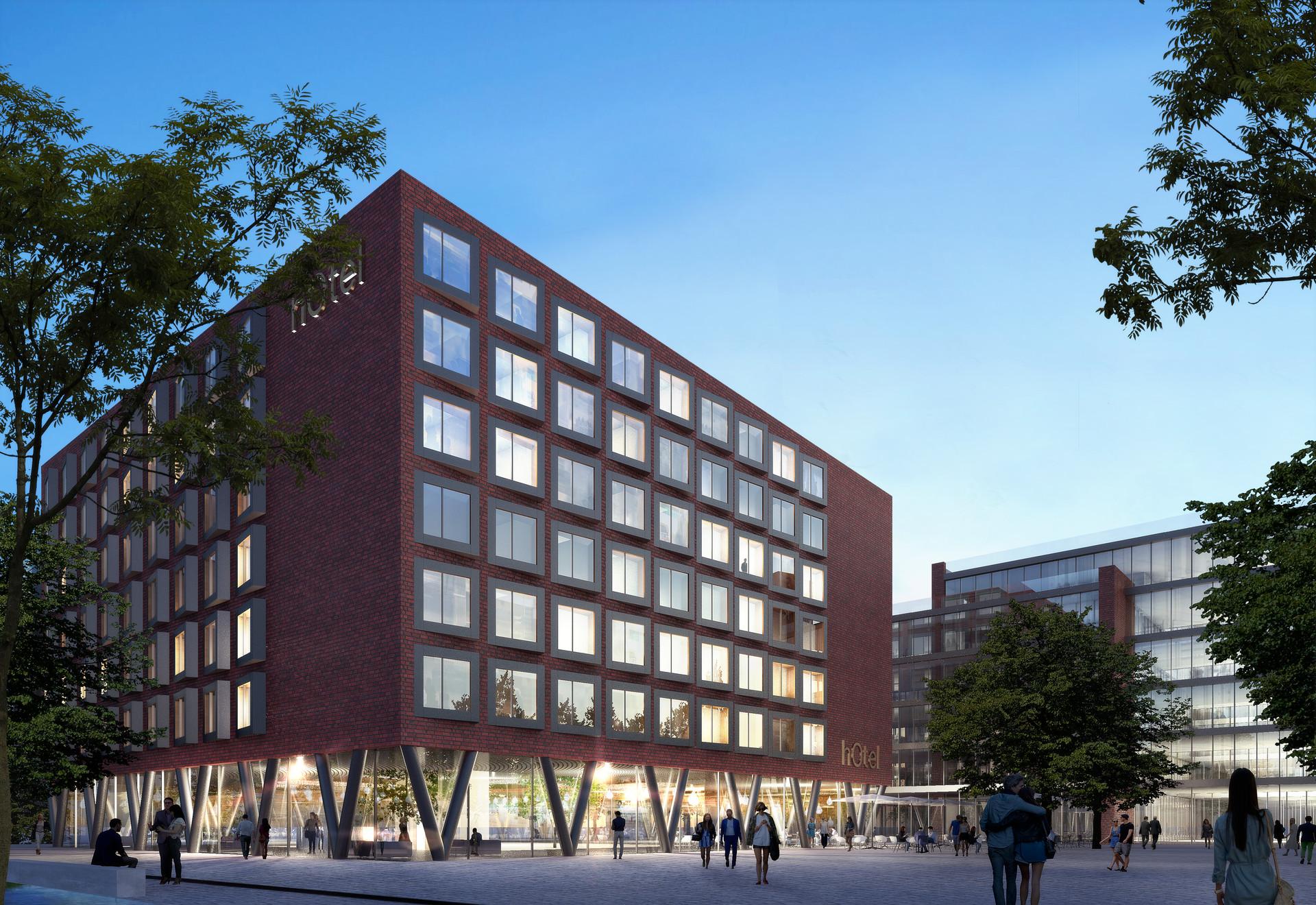 Hotel Centro Oberhausen Ben Dieckmann architects