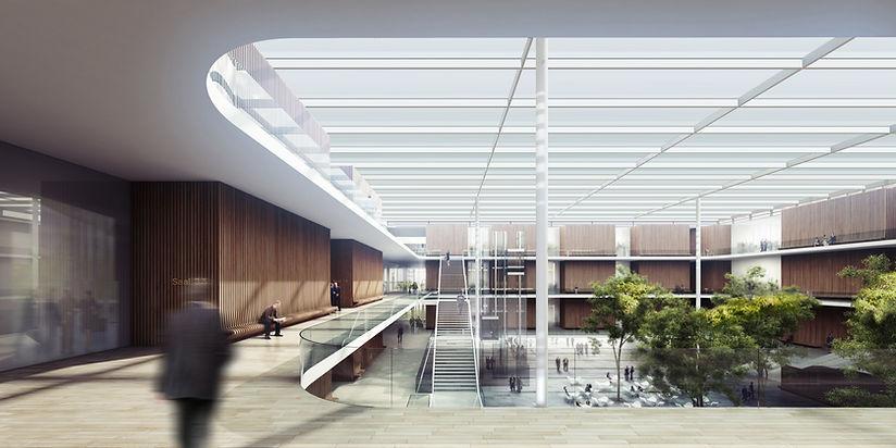 Ben Dieckmann architect Strafjustizzentrum München, Courthourse Munich