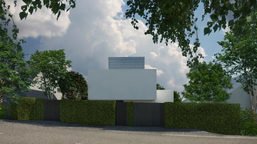 H58 Wohnhaus vorne | Ben Dieckmann architects