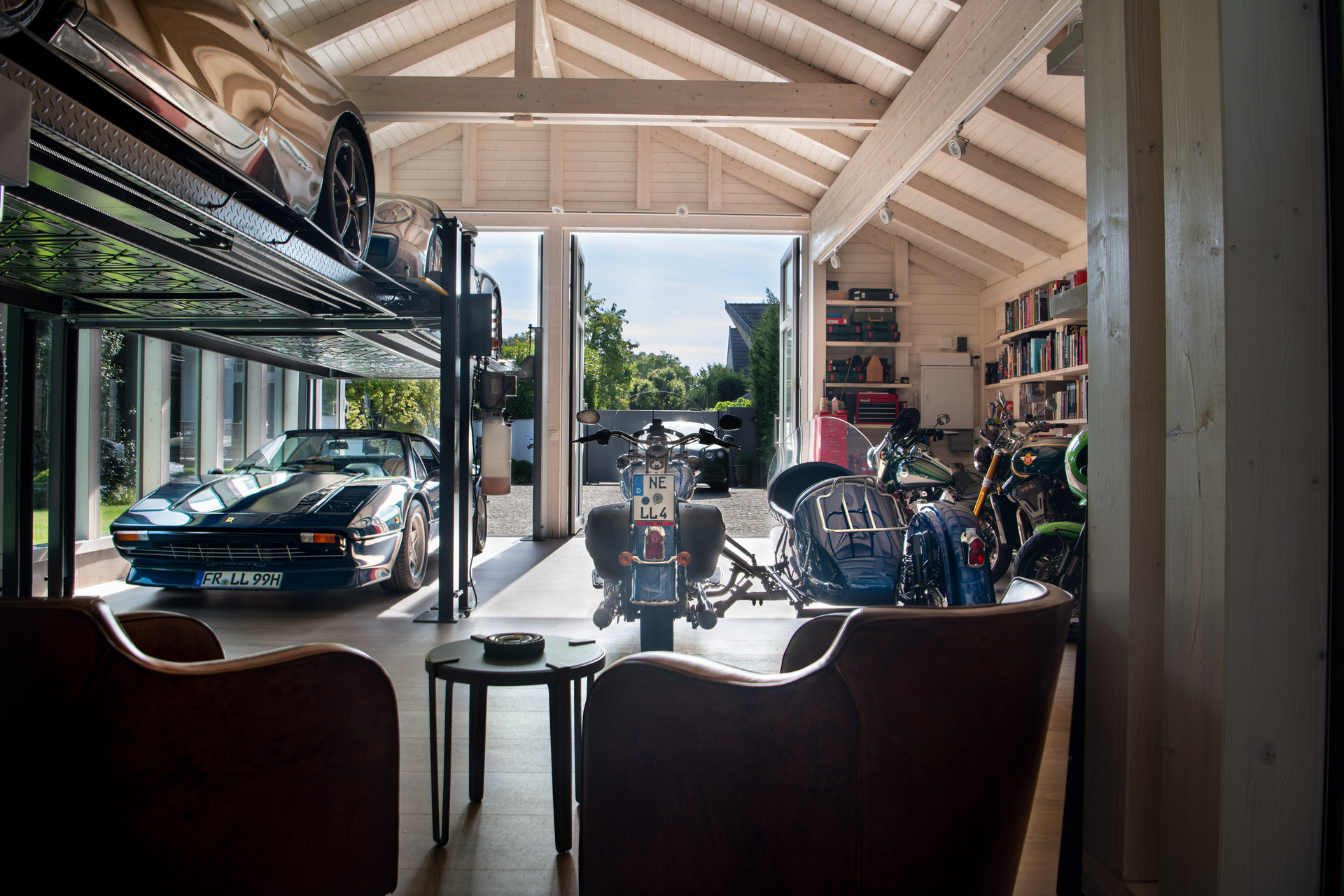 interior Garage 2.0 | Ben Dieckmann architects