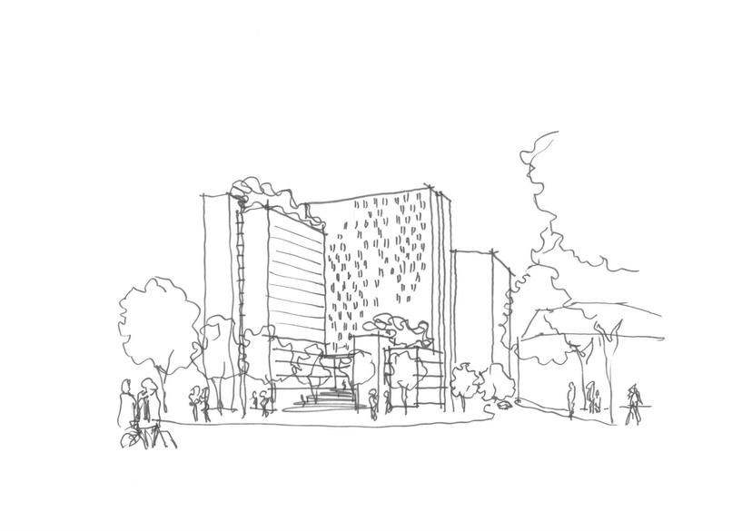 Mixed Use Essen | Ben Dieckmann architects