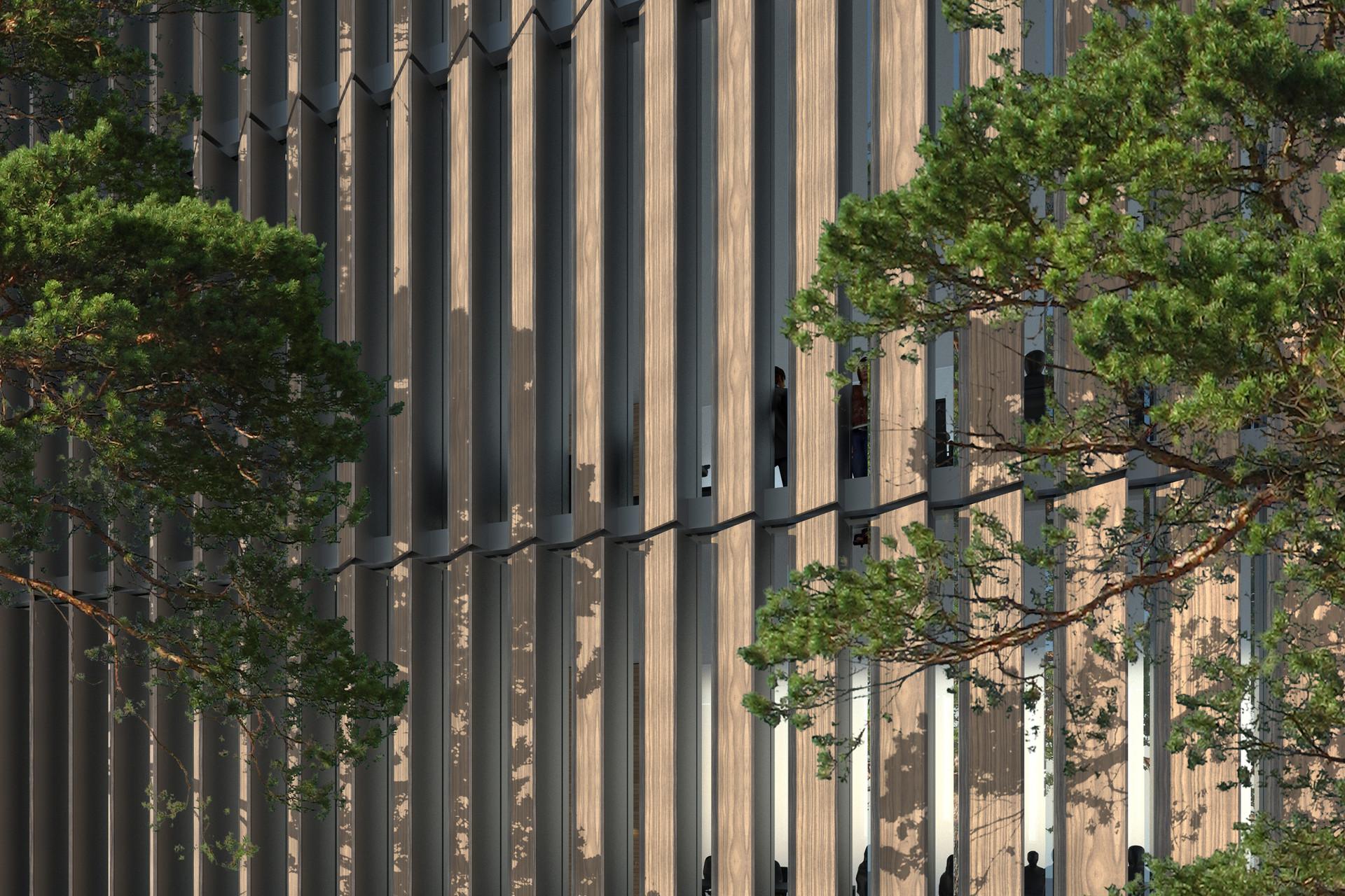 Courhouse Munich, Ben Dieckmann architects