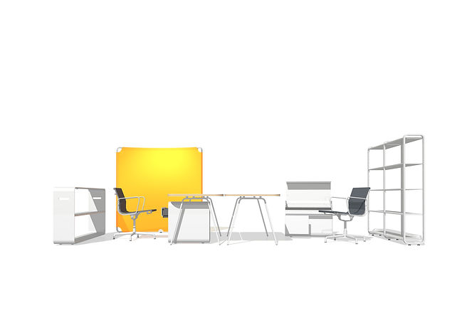 Ben Dieckmann architect readymade terminal office furniture systm Vitra