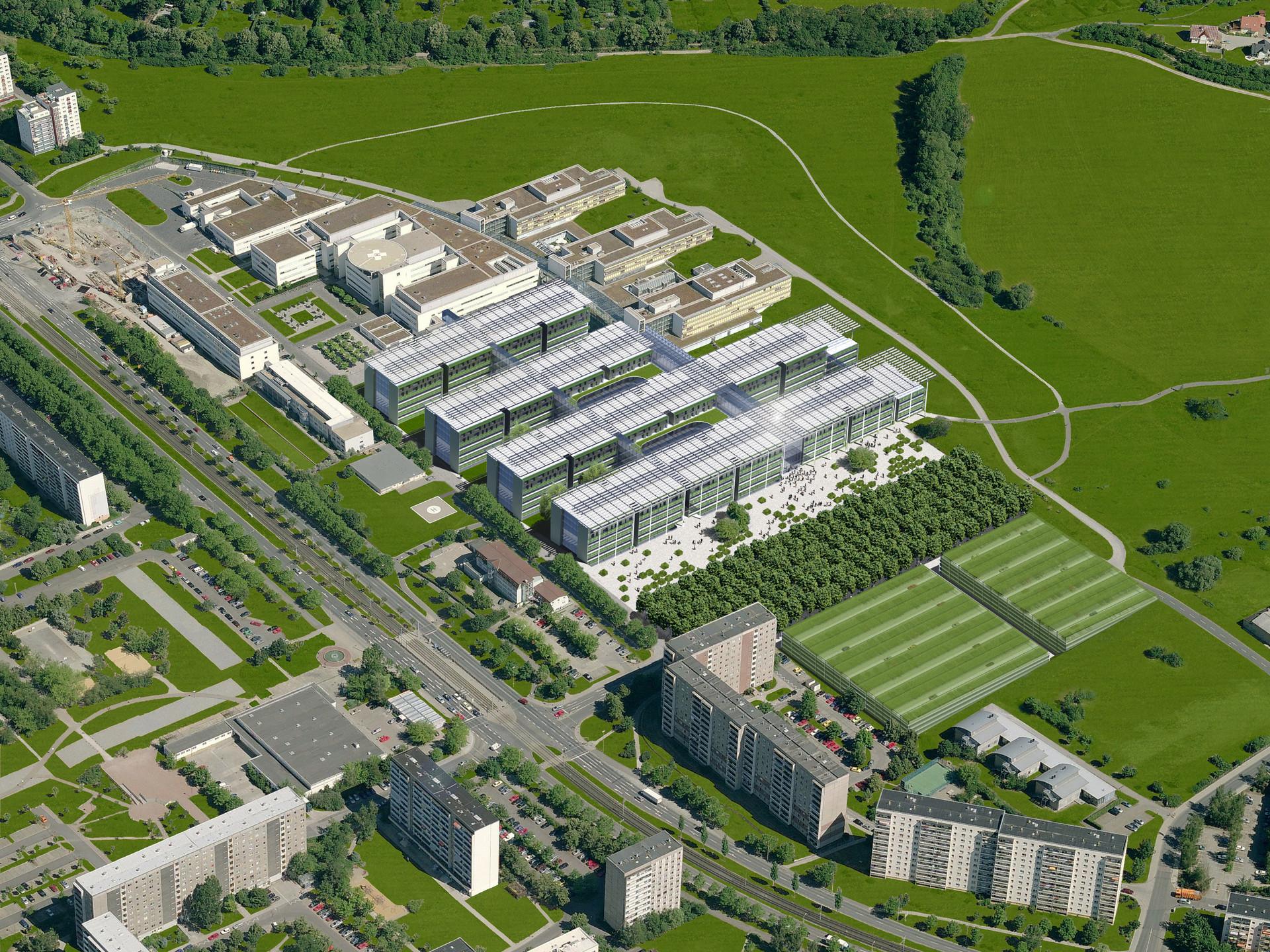 Universitätsklinikum Jena   Ben Dieckmann architects