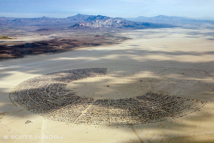 Ben Dieckmann architect BRCMUP Burning Man Masteplan Black Roch City Nevada