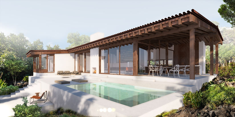 Ben Dieckmann architect Villa K La Palma holiday retreat