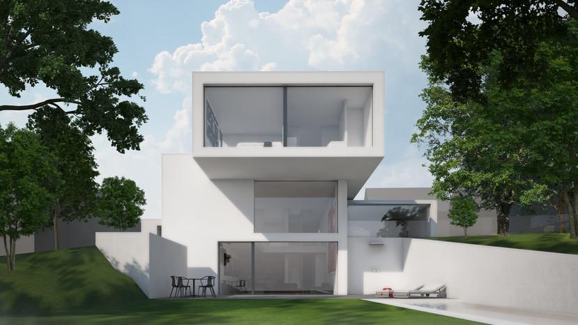 H58 Wohnhaus hinten | Ben Dieckmann architects