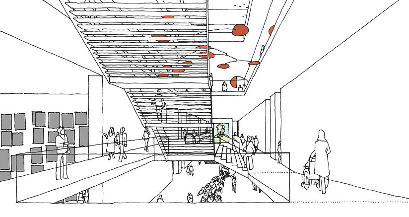 Ben Dieckmann architect M20 Museum of Art Berlin