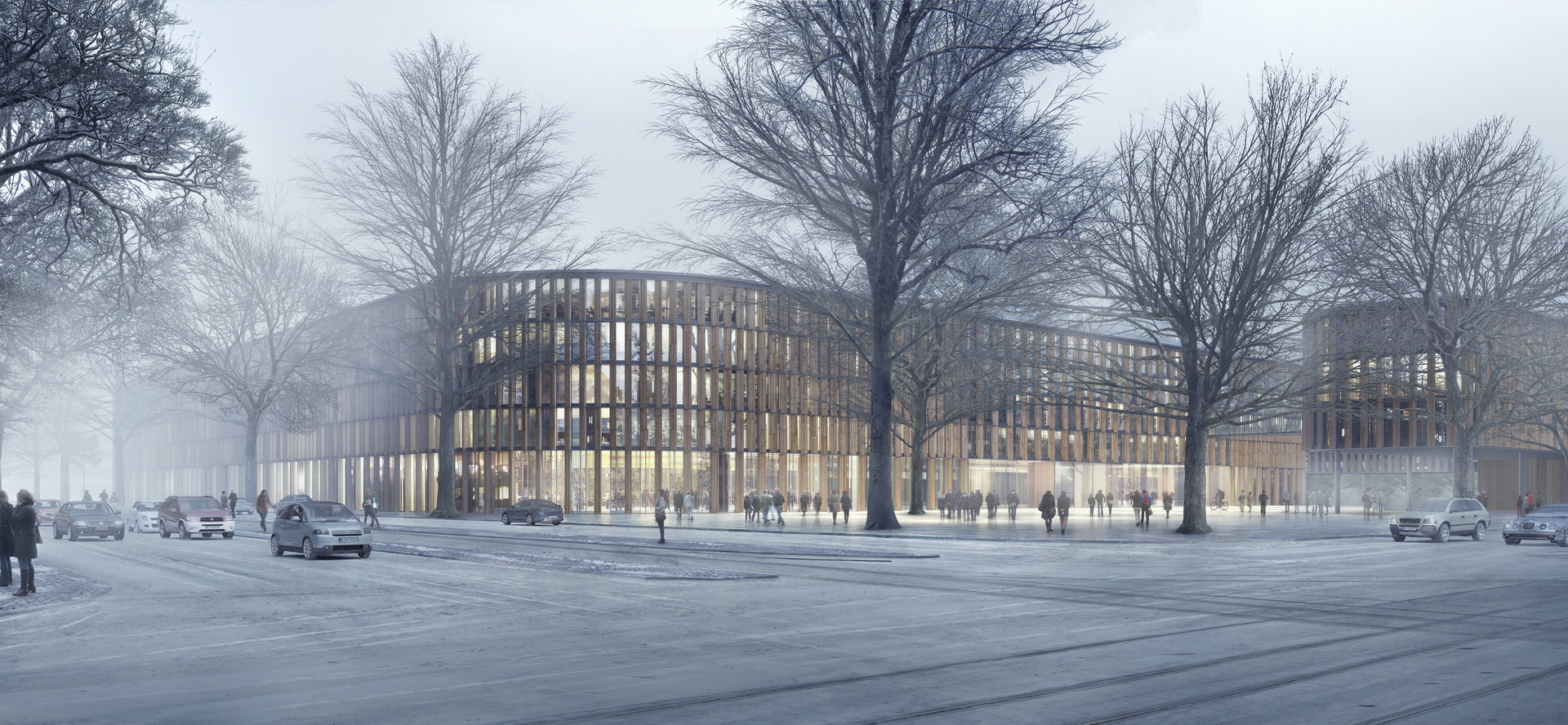 Courthouse Munich, Ben Dieckmann architects