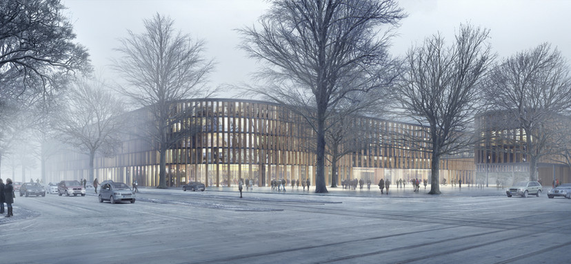 Courthouse Munich, Ben Dieckmann architects