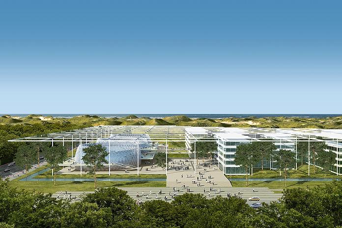 Ben Dieckmann architect ICC Internatiol Criminal Court The Hague Netherlands