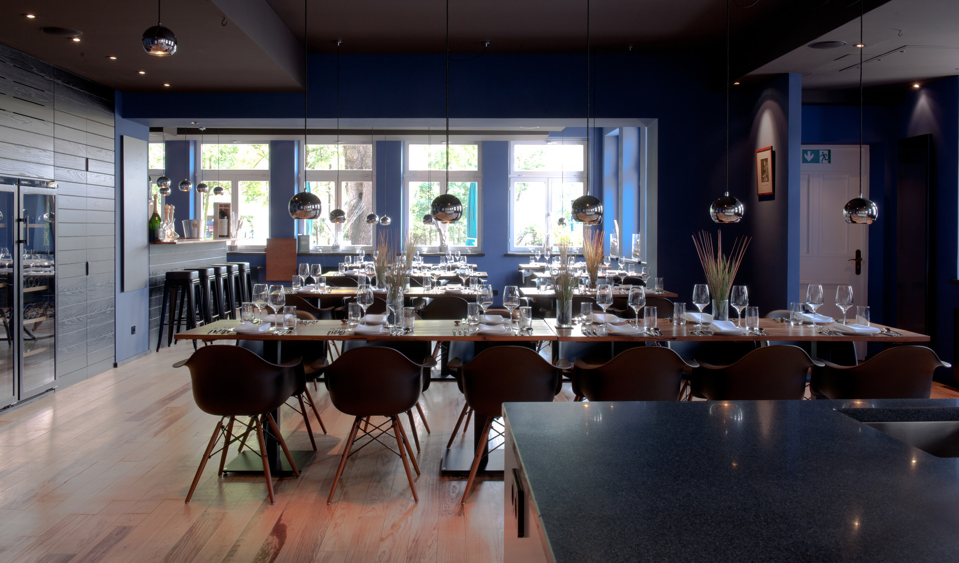 Anthony`s Restaurant and cookery School Meerbusch Ben Dieckmann architects