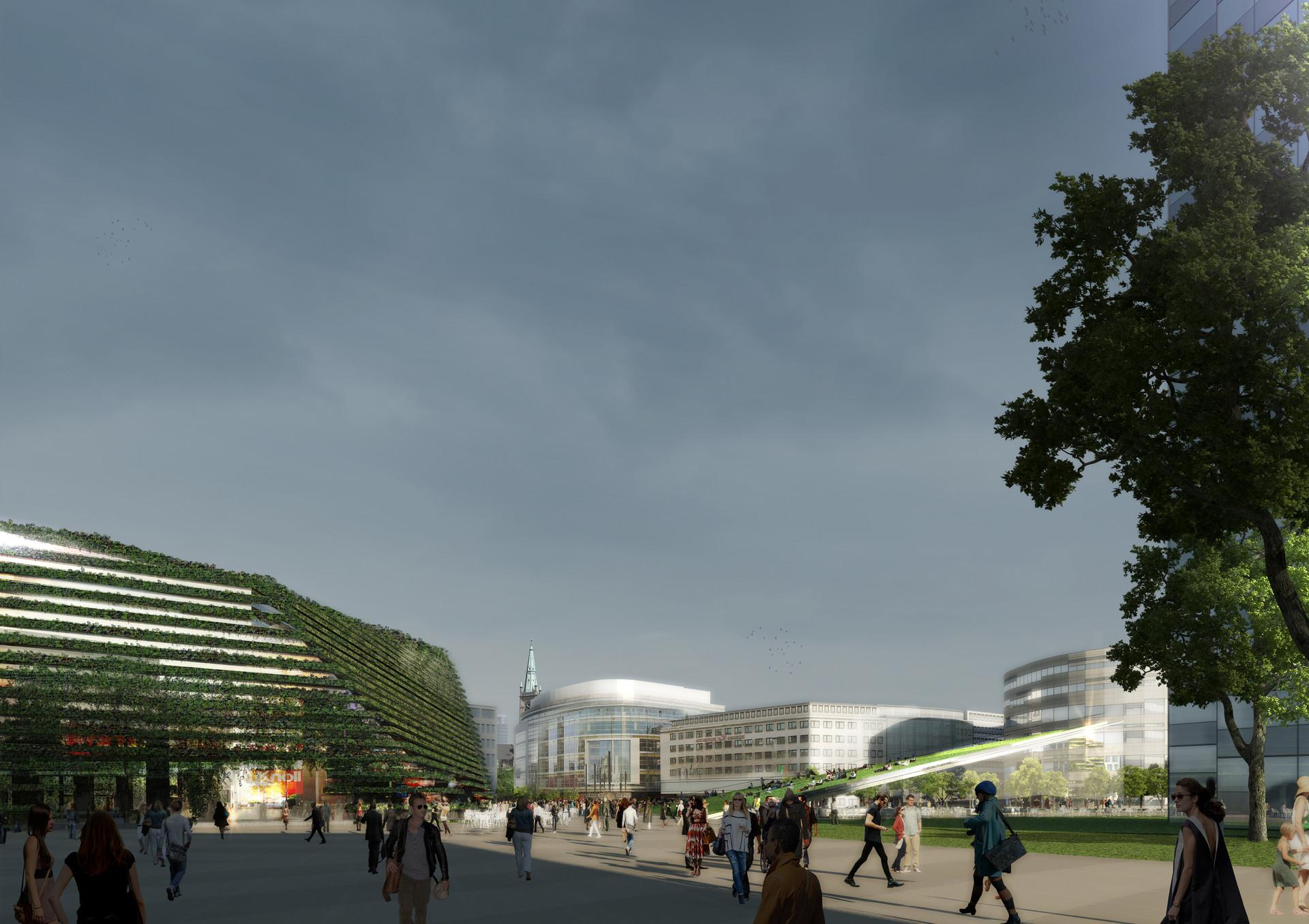 Ben Dieckmann architects KöBogen 2 Düsseldorf