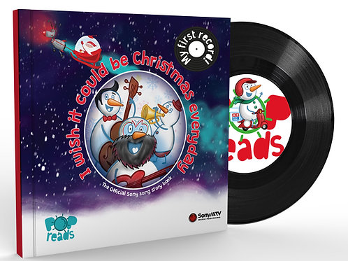 I wish it could be Christmas everyday - 'My First Record'