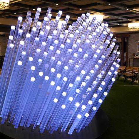 Twitter Heartbeat Sculpture