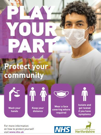 To protect the community from Covid 19, wash your hands, keep your distance, wear a face mask where required, isolate and get tested if you have symptoms.