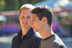 Jonathan Miles and Bjorn Anderson