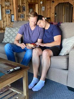 Bjorn Anderson and Jonathan Miles