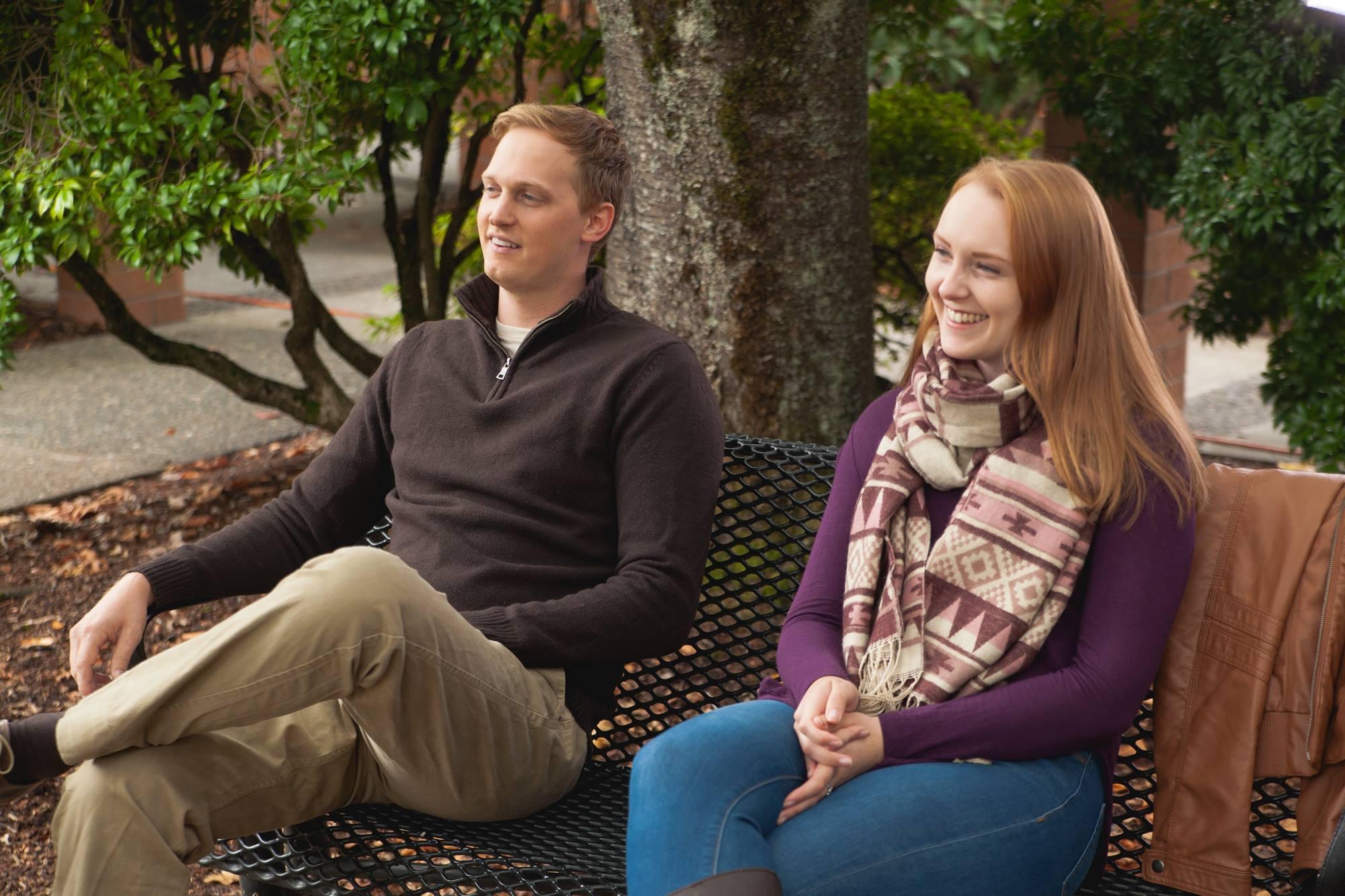 Bjorn Anderson and Beth Dodge