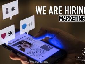 WE ARE HIRING! Socio de agencia Marketing 2.0