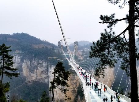 A SMALL CITY OF BIG WONDERS, ZHANGJIAJIE: Crossing the World's Longest Glass Bridge