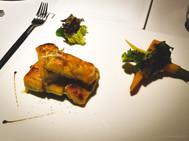 Wujie, Vegan Dinner, Sweet Potato Gratin
