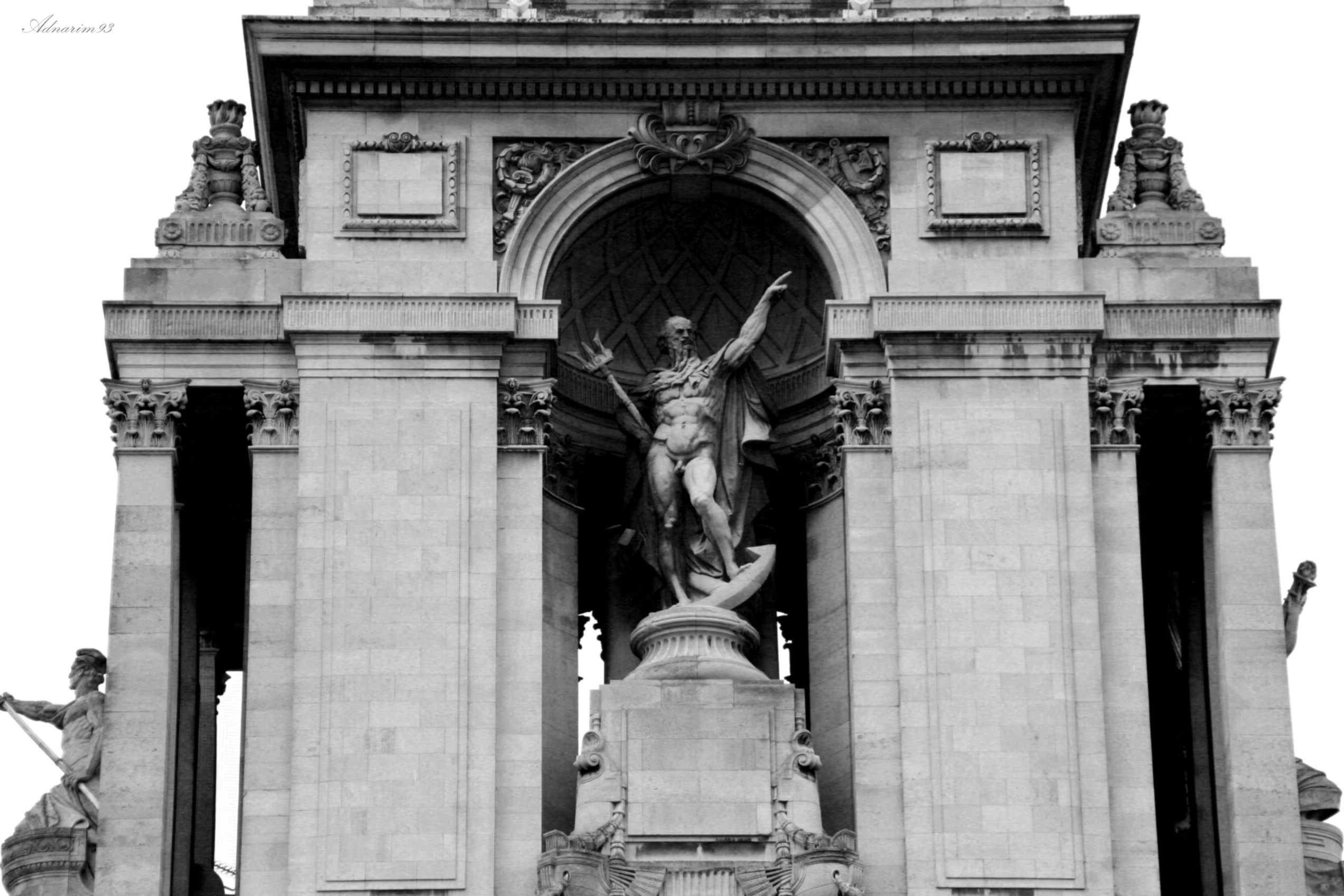 Triumphant Arch, Paris, France