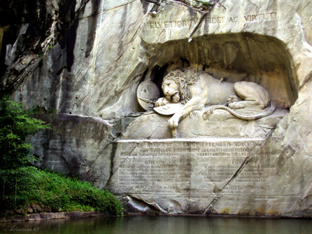 Weeping Lion_Switzerland