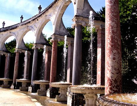 Versailles Garden Fountains