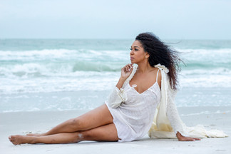 Contemporary Beach Portrait