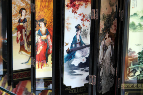Chinese Painted Panels