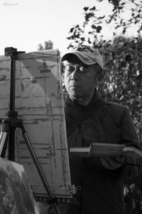 Elder Painter_BNW_Shanghai