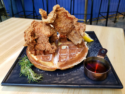 Mr. Pancake Plus, Chicken and Waffles