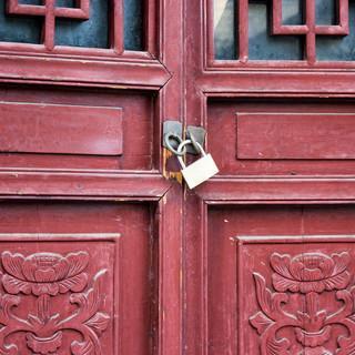 Locked Red Door